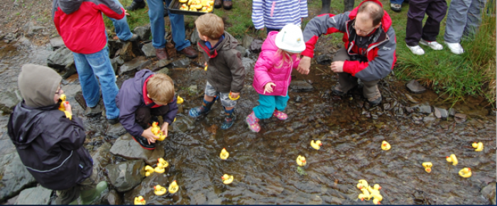 The Duck Races - in May every year